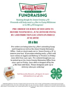 Cover photo for Raise Dough for Jones County 4-H'ers!